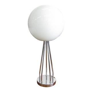Mid-Century Modern Chrome Table Lamp For Sale