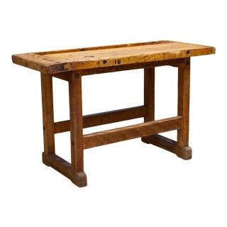 Antique American Carpenter's Workbench C.1900 For Sale