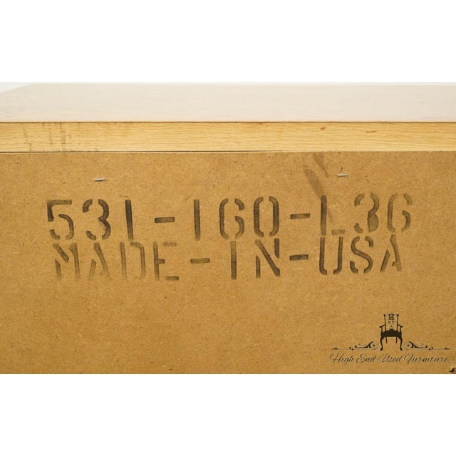 """American Drew Country French Oak 72"""" Triple Door Dresser For Sale - Image 12 of 13"""