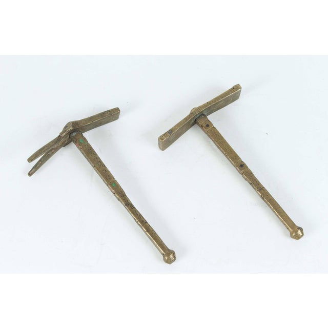 Moroccan Brass Berber Sugar Hammers - A Pair For Sale - Image 9 of 9