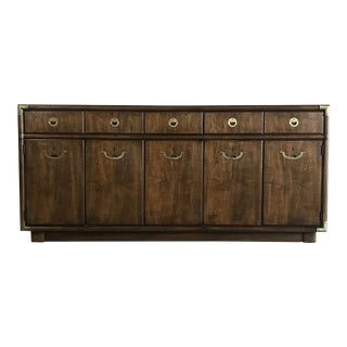 1970s Mid Century Modern Credenza Sideboard by Drexel For Sale