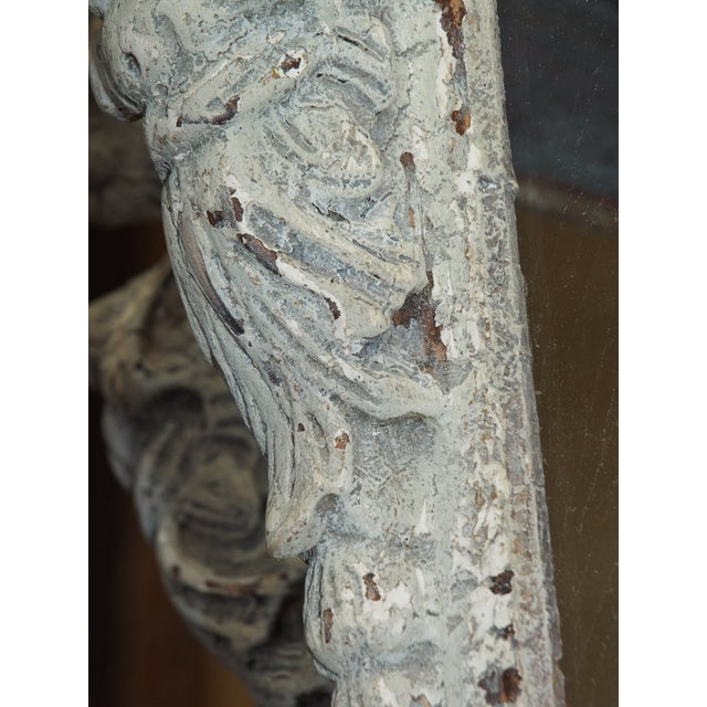 Italian Carved Wood Lantern For Sale In New Orleans - Image 6 of 9