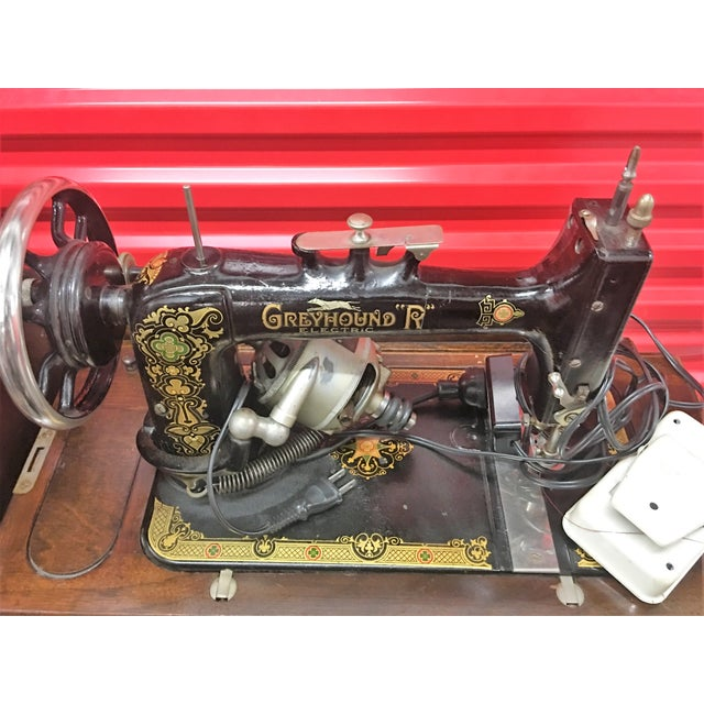 Greyhound Electric Portable Sewing Machine For Sale - Image 7 of 10