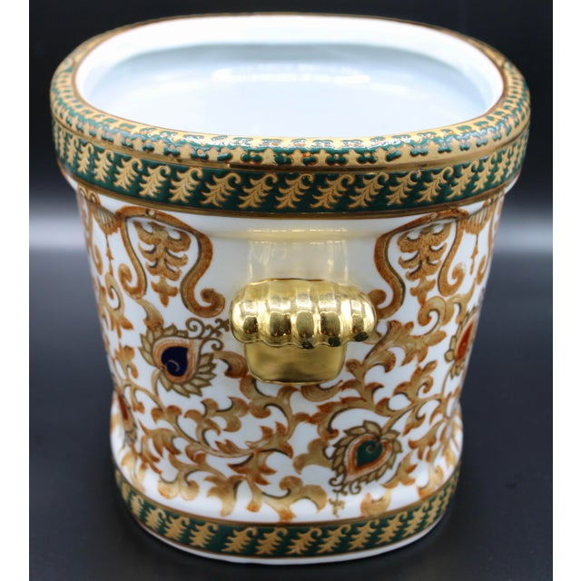 1970s 1970s Chinese Porcelain Foot Bath For Sale - Image 5 of 10