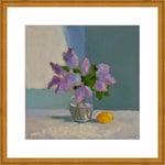 "Medium ""Lilac With Lemon"" Print by Anne Carrozza Remick, 29"" X 20"""