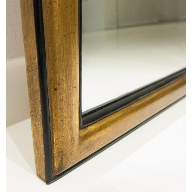 Gesso Gilt Gesso Arched Pier Mirror For Sale - Image 7 of 9