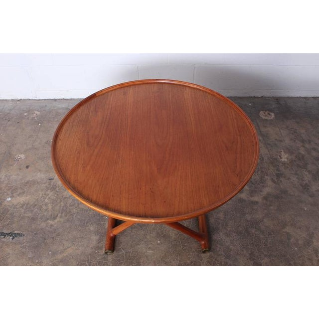 Egyptian Table by Mogens Lassen for A.J. Iversen For Sale - Image 9 of 10