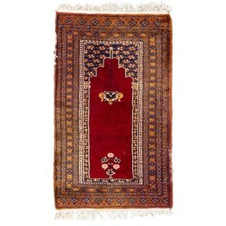"Vintage Persian Rug, 2'00"" X 3'03"""