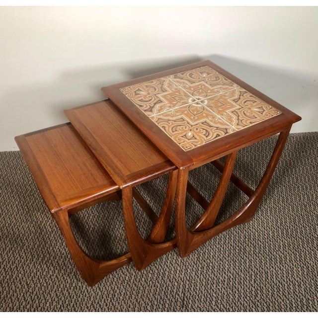 Mid Century Teak Nesting Side Table Set by G Plan For Sale - Image 10 of 10