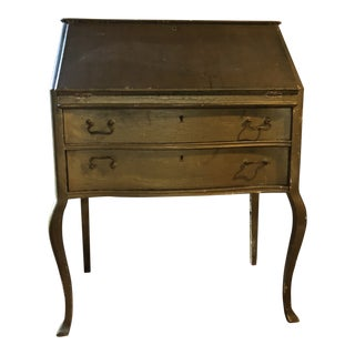 Queen Anne Wood Secretary Desk For Sale