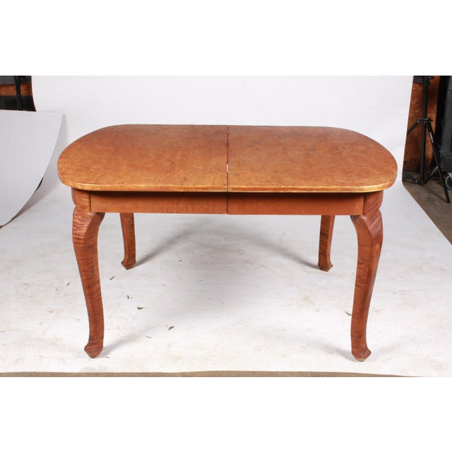 Art Nouveau Swedish Dining Table For Sale - Image 9 of 9