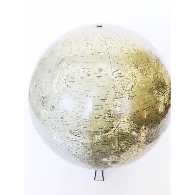 Mid Century Moon Globe - Image 3 of 5