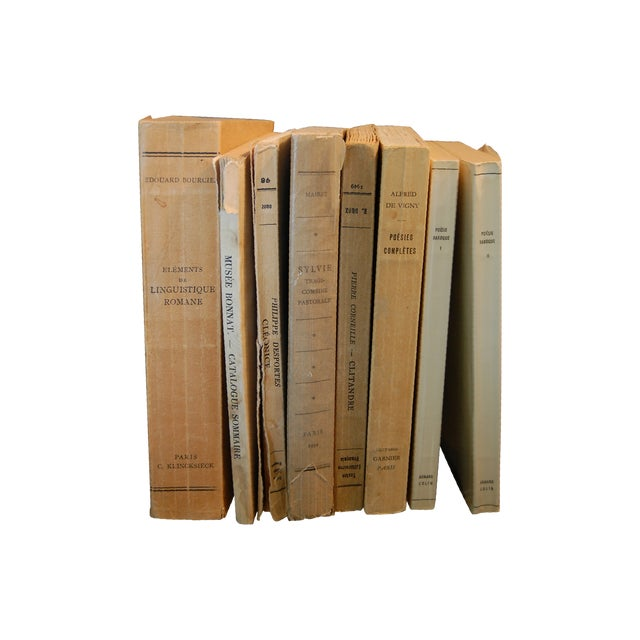 Vintage French Paperback Books - Set of 8 - Image 1 of 8