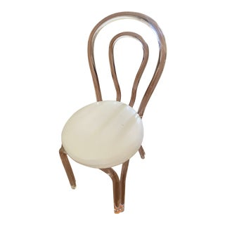 1970s Single Lucite Chair For Sale