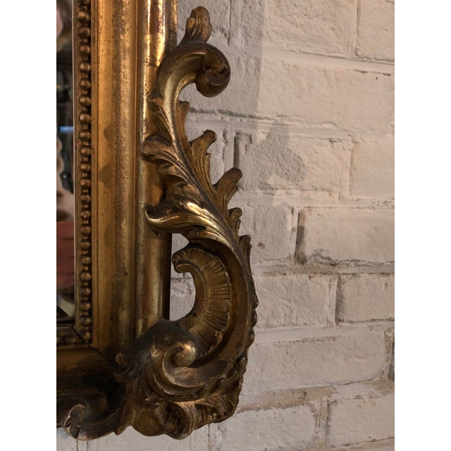 19th Century Mirror in the Style of Louis XV For Sale - Image 6 of 8
