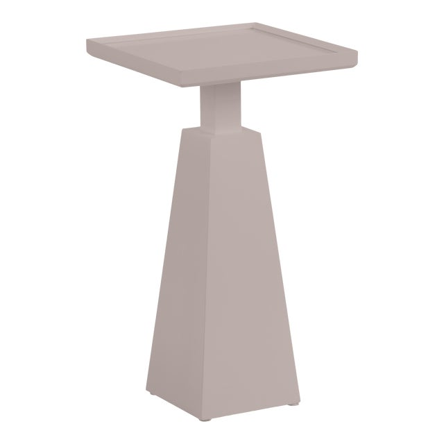 Casa Cosima Hayes Spot Table, Elephant Gray For Sale