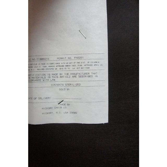 Hickory Chair Mark Hampton Thomas O'Brein Trestle Bench For Sale - Image 9 of 13