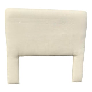 1990s Modern Double Size Upholstered Headboard For Sale