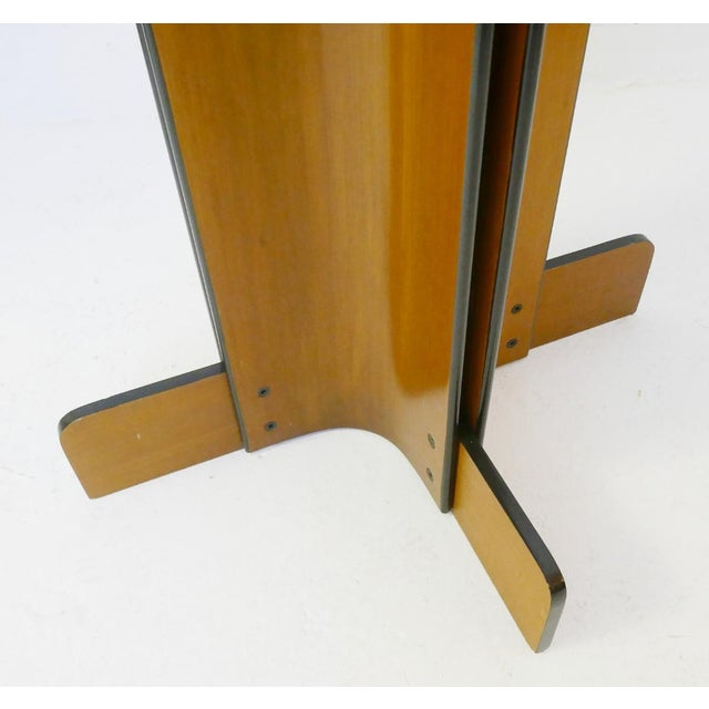 Coat Rack in Multiplex Curved Wood by Campo & Graffi For Sale - Image 9 of 10