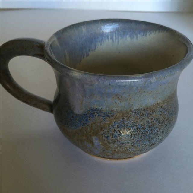 Vintage Pottery Mugs - Set of 5 - Image 7 of 11