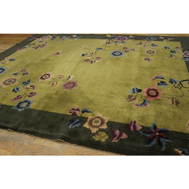 Antique Chinese Art Deco Rug For Sale In New York - Image 6 of 13