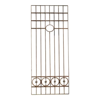 Antique Victorian Iron Gate or Garden Fence For Sale