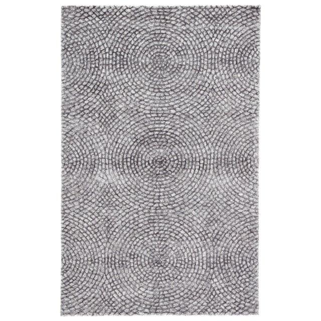 2010s Pollack by Jaipur Living Impresario Handmade Medallion Silver/ Gray Area Rug - 9′ × 12′ For Sale - Image 5 of 5