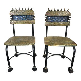 Pair of Laura Jacobs Chairs
