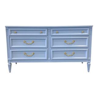 Light Blue Lacquer Dresser