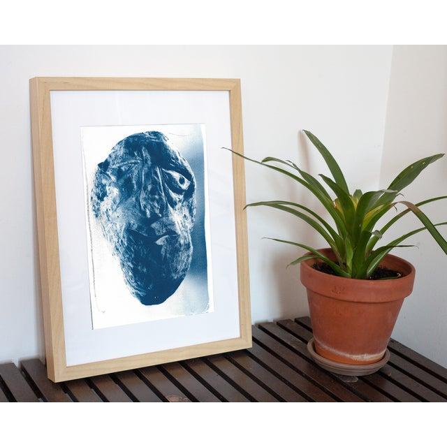 Cyanotype Print - Rock Face Sculpture - Image 2 of 5
