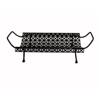 Tray - Vintage Metal Mesh Tray
