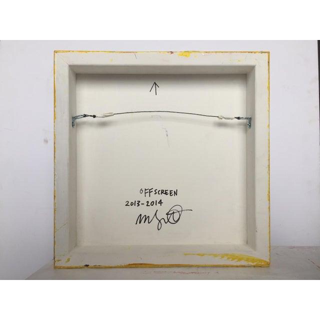 "Mel Prest Mel Prest ""Offscreen"", Painting For Sale - Image 4 of 5"