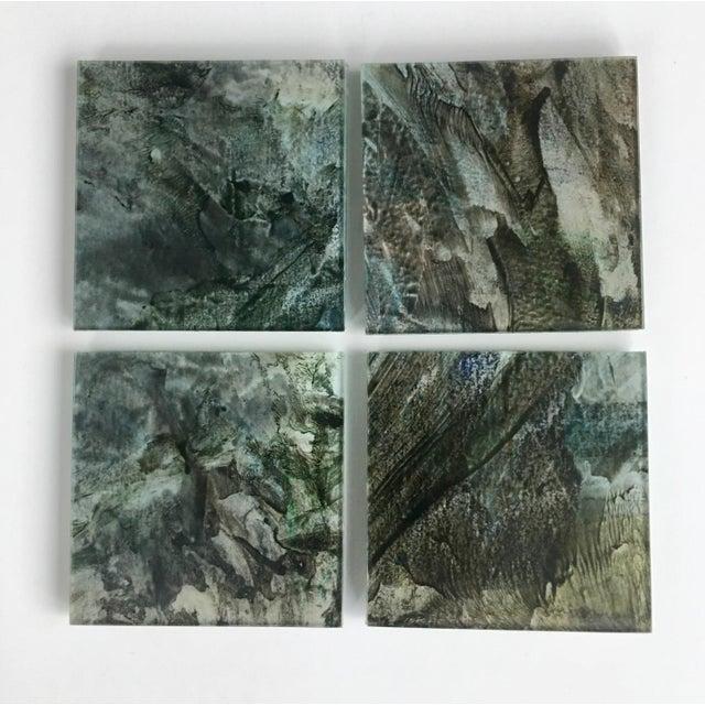 Upcycled Glass Coasters - Set of 4 - Image 2 of 8