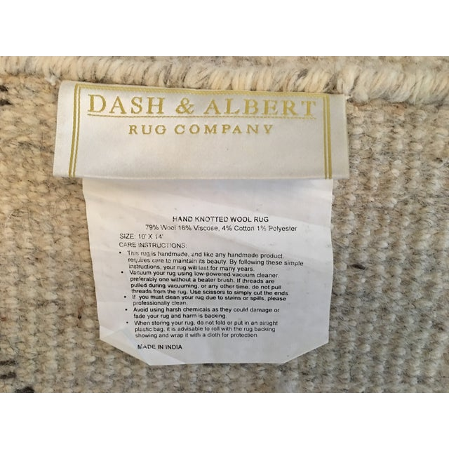 Dash & Albert Hand Knotted Wool Rug - 10' × 14' - Image 5 of 5