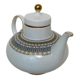 Argentinian Porcelain Teapot For Sale