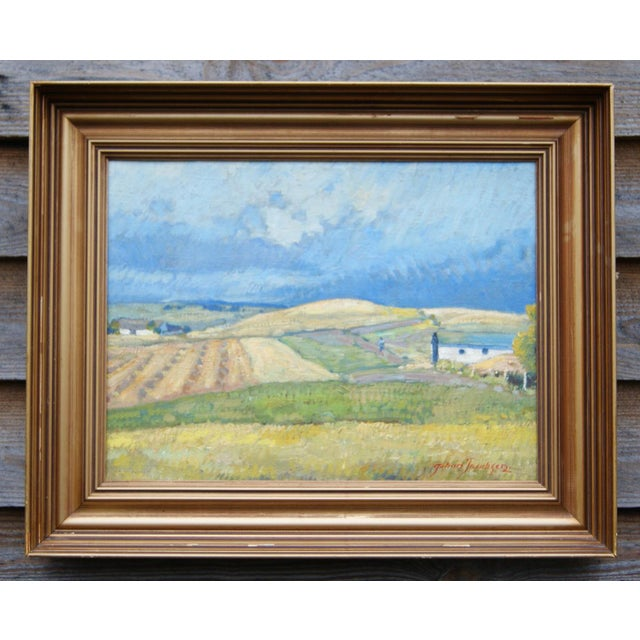 Summer Landscape Painting by Johan Jacobsen - Image 2 of 5