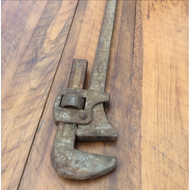 Large Pipe Wrench - Image 3 of 4