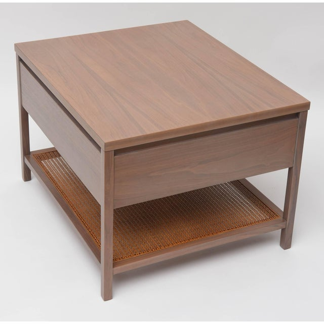 Greige Walnut Side Table by Paul McCobb for Calvin For Sale - Image 9 of 11