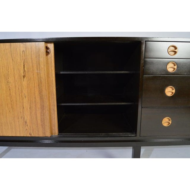 Mid-Century Modern Harvey Probber Rosewood and Mahogany Credenza For Sale - Image 3 of 12