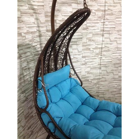 Rattan Swing Chair/Bed - Image 6 of 7
