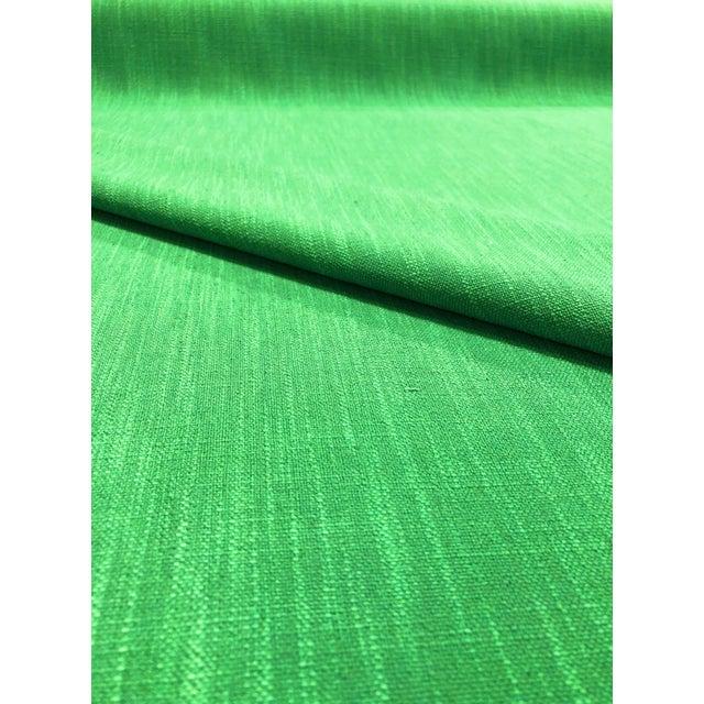 Modern Kate Spade for Kravet Inc Millwood - Modern Picnic Green Designer Multipurpose Fabric - 7.25 Yards For Sale - Image 3 of 5