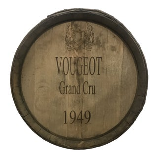 French Wine Barrel Top For Sale