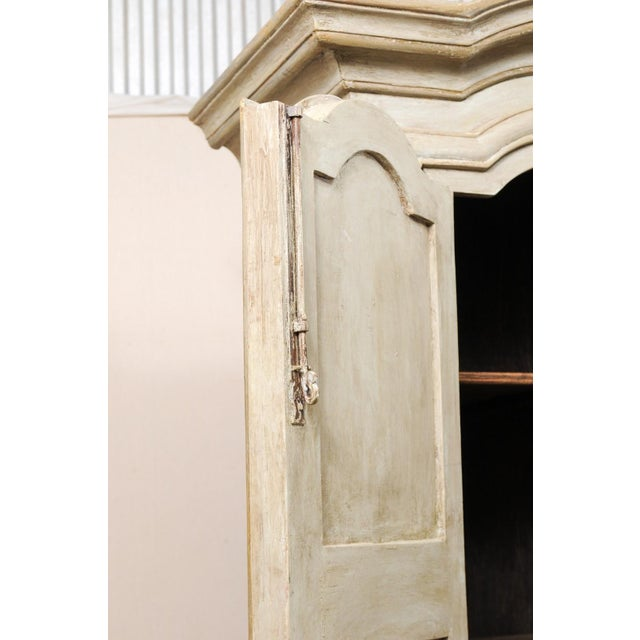 Brazilian Painted Wood Storage Cabinet For Sale In Atlanta - Image 6 of 12
