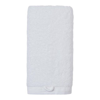 Cumulus Terry Hand Towel in White For Sale