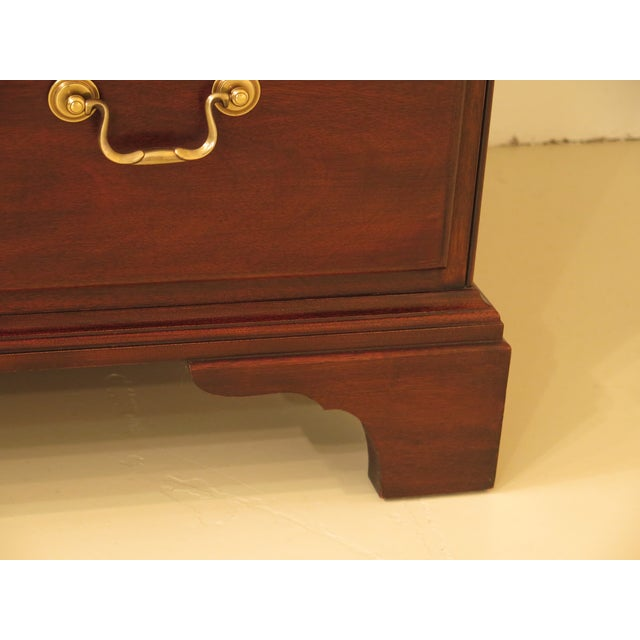Henkel Harris Mahogany Arched Top Armoire For Sale - Image 10 of 13