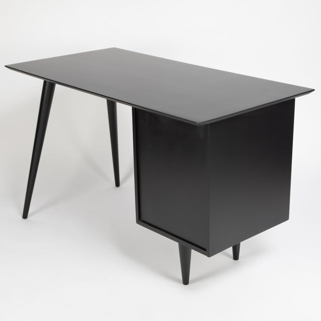 Paul McCobb Desk With Tapered Legs C. 1950s For Sale In New York - Image 6 of 13