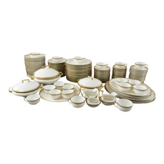 137 Piece Set China by Tressemann and Vogt of Limoges Service for 18 For Sale