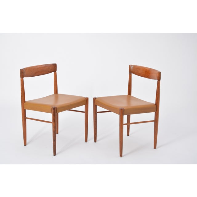 Mid-Century Modern Set of 8 Midcentury Dining Chairs by h.w. Klein for Bramin For Sale - Image 3 of 12