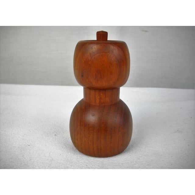 Wood Jens Quistgard Pepper Mill For Sale - Image 7 of 9