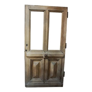 Mid 19th Century French Walnut Door For Sale